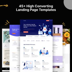 Fast Pages landing page builder fast
